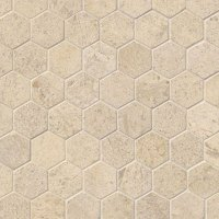 MS International Limestone Pattern Mosaic Tile & Stone Colors