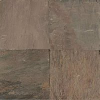 Tilecrest Slate Stone 24 x 24 Autumn Gold Gauged