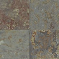 Tilecrest Slate Stone 24 x 24 Brazilian Multicolor Gauged