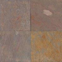 Tilecrest Slate Stone 24 x 24 Rajah Multicolor Gauged