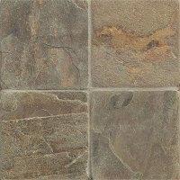 Tilecrest Slate Stone 6 x 6 Rajah Multicolor Tumbled