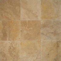 Tilecrest Travertine Stone 16 x 16 Tile & Stone Colors