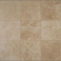 Tilecrest Travertine Stone 18 x 18 Veracruz Sand Honed