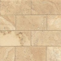 Tilecrest Travertine Stone 3 x 6 Venato Brushed