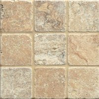 Tilecrest Travertine Stone 4 x 4 Philadelphia Tumbled