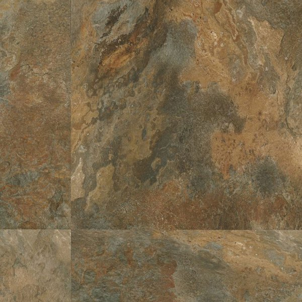 Armstrong Luxe Tile Fastak 18 X Lexington Slate Multi Color
