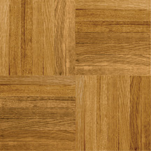 Armstrong Urethane Parquet Wood  Natural and Better Tawny