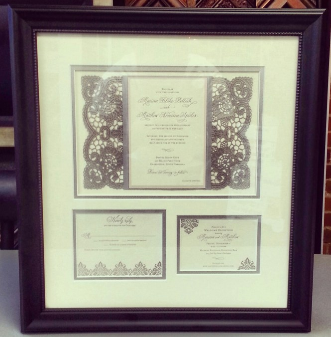 Simple Blank Wedding Invitation Templates Combined With Golden Rings And Elegant Gles Picture Decoration Also