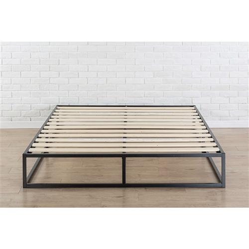 King Size Modern 10 Inch Low Profile Metal Platform Bed