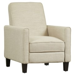 Garden Recliner Chair Covers Booster Seat High Club Lounge In Light Beige Linen Upholstery   Fastfurnishings.com