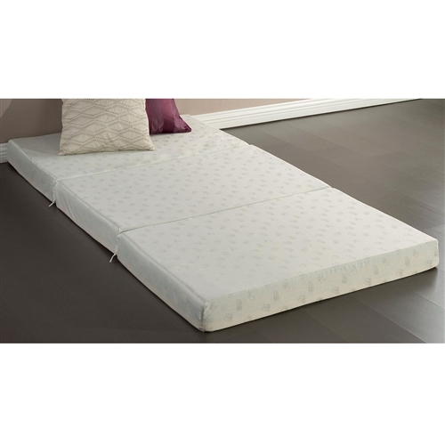 Twin size 4inch Thick Memory Foam Guest Bed Mat Folding