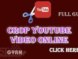 YouTube Crop Video Online