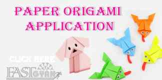 Paper Origami Application