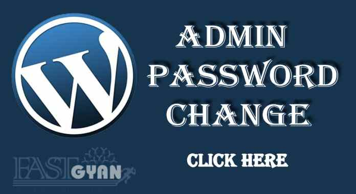 WordPress Admin Password Change Kaise Kare