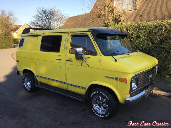 1976 Chevy Van For Sale - Exploring Mars