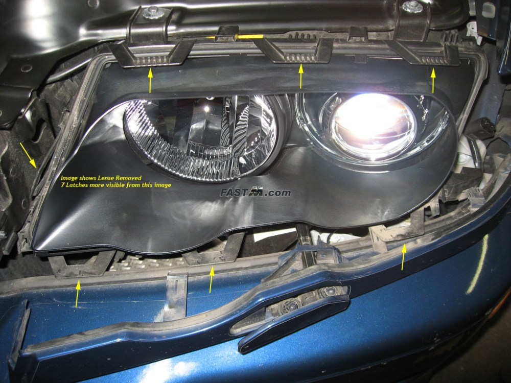 medium resolution of bmw e46 headlight