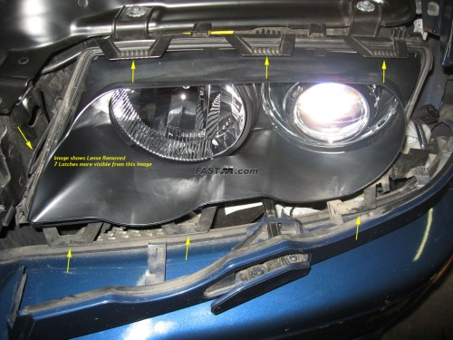small resolution of bmw e46 headlight