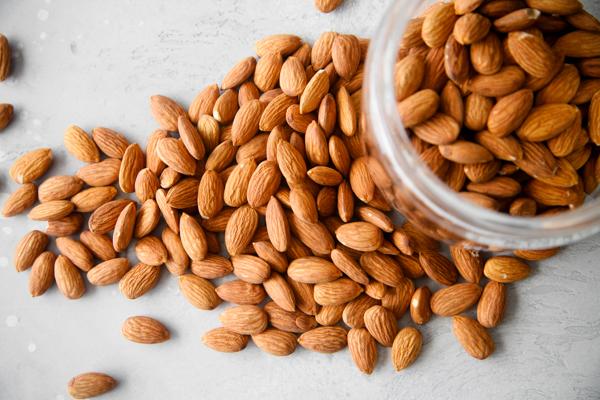Consume Almonds as Snacks