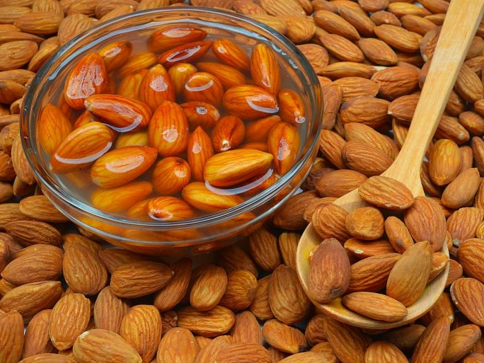 Overnight Soaked Raw Almond