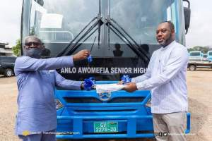 Minister for Education hands over 120 Buses to SHSs 3