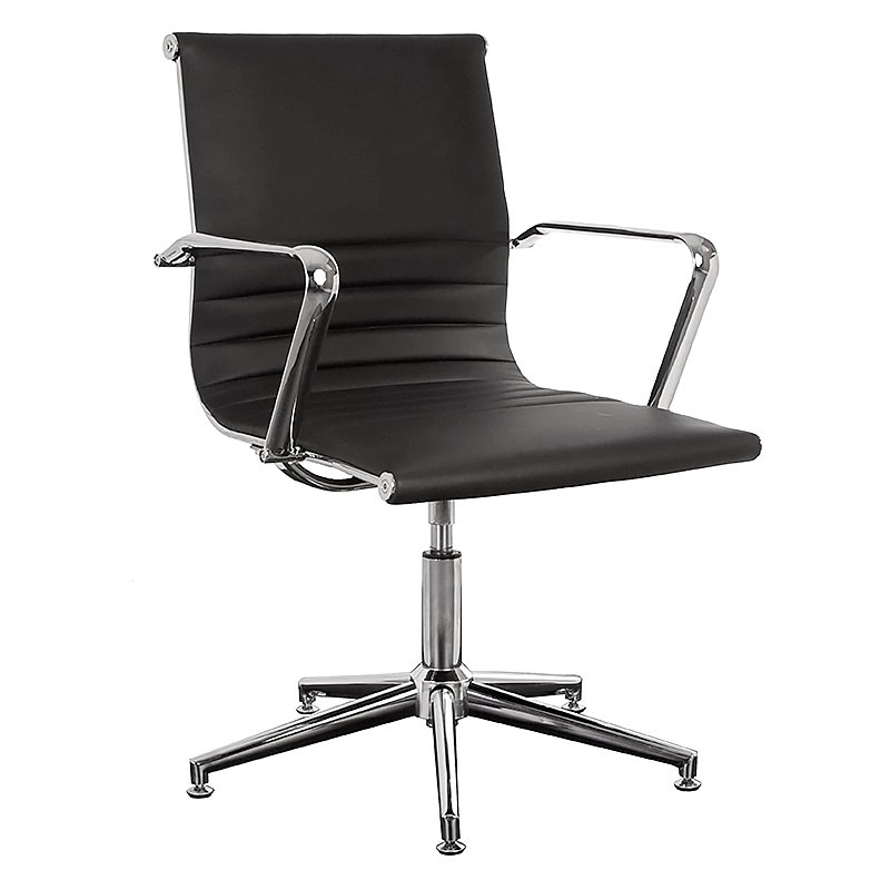 AUSTIN FIXED HEIGHT SWIVEL MEETING ROOM CHAIR  Fast