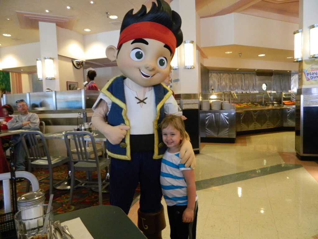 Hollywood and Vine Buffet with Disney Characters