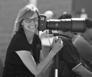 Maddy Flanagan, fastball photographer par excellence.