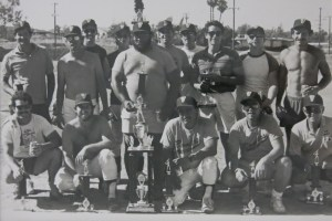 1984 Vista Bombers (click to enlarge). And yes, we wore uniforms that year, this photo was taken at day's end.