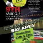 9th Annual Amigos Tournament – San Francisco Bay Area – Nov. 11-12, 2017