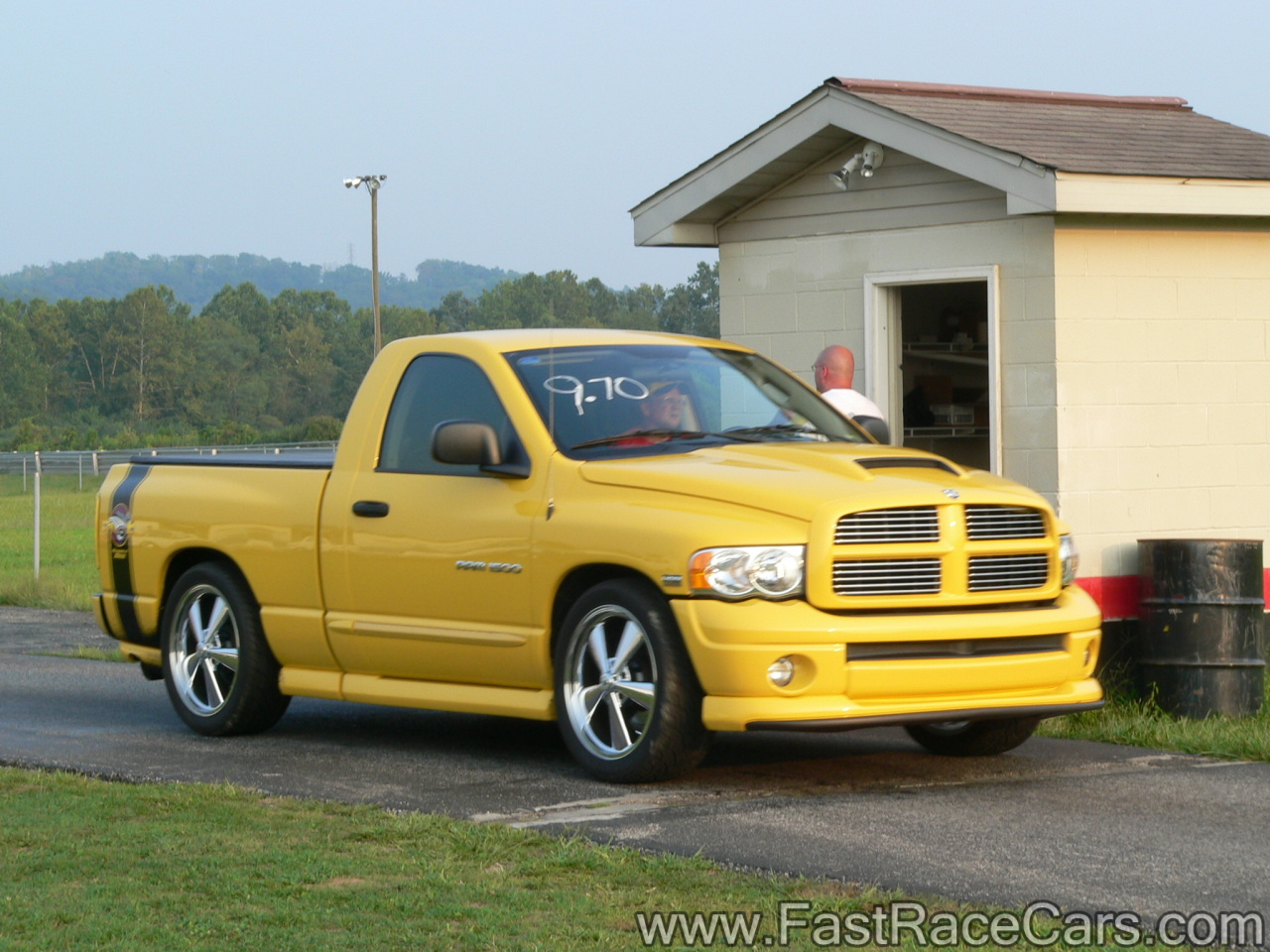 hight resolution of yellow dodge ram truck with rumble bee package