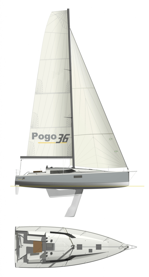 small resolution of pogo36 fastsailing with lifting keel