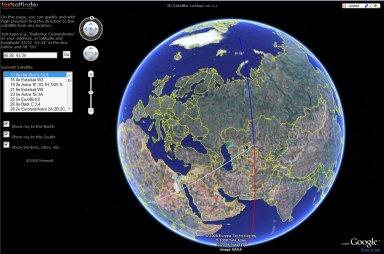 Satellite Finder - 3d Satellite Lookup