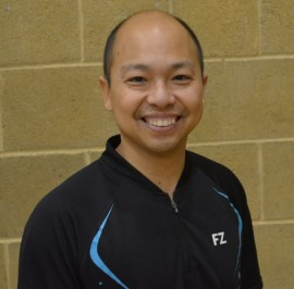 Zeyar Win, head coach at FastStep Badminton Academy