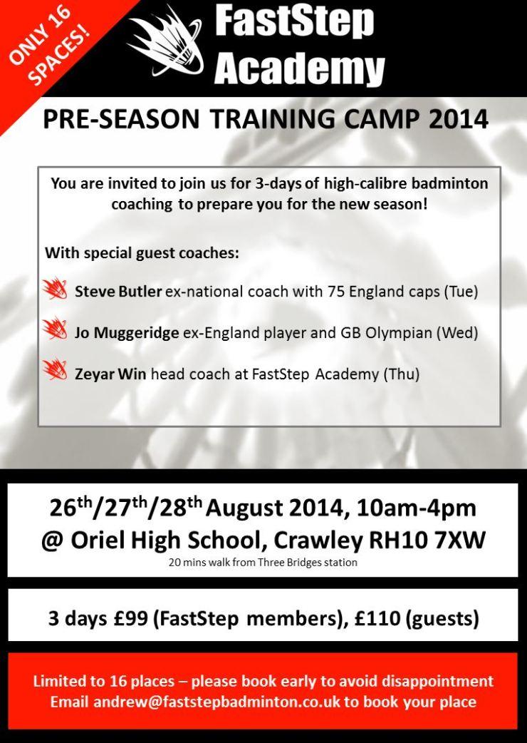 FastStep Summer Camp 2014