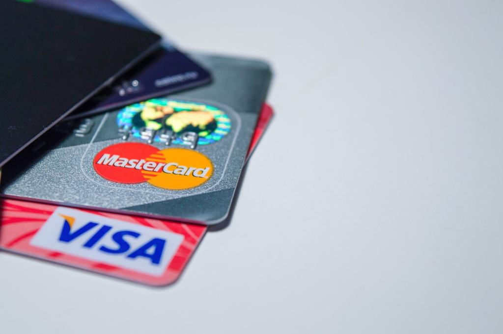 credit cards representing payments