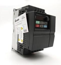 cnc speed controller 1 5kw delta inverter vfd drive vfd015el21a 1phase 220v 0 1 600hz for water pump packaging machine [ 1000 x 1000 Pixel ]