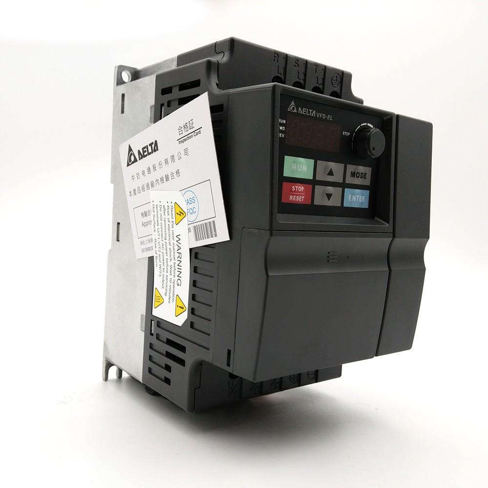 medium resolution of cnc speed controller 1 5kw delta inverter vfd drive vfd015el21a 1phase 220v 0 1 600hz for water pump packaging machine