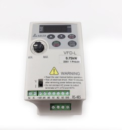 single phase delta frequency drive 220v 0 75kw vfd inverter vfd007l21a 400hz variable frequency controller [ 1000 x 1000 Pixel ]