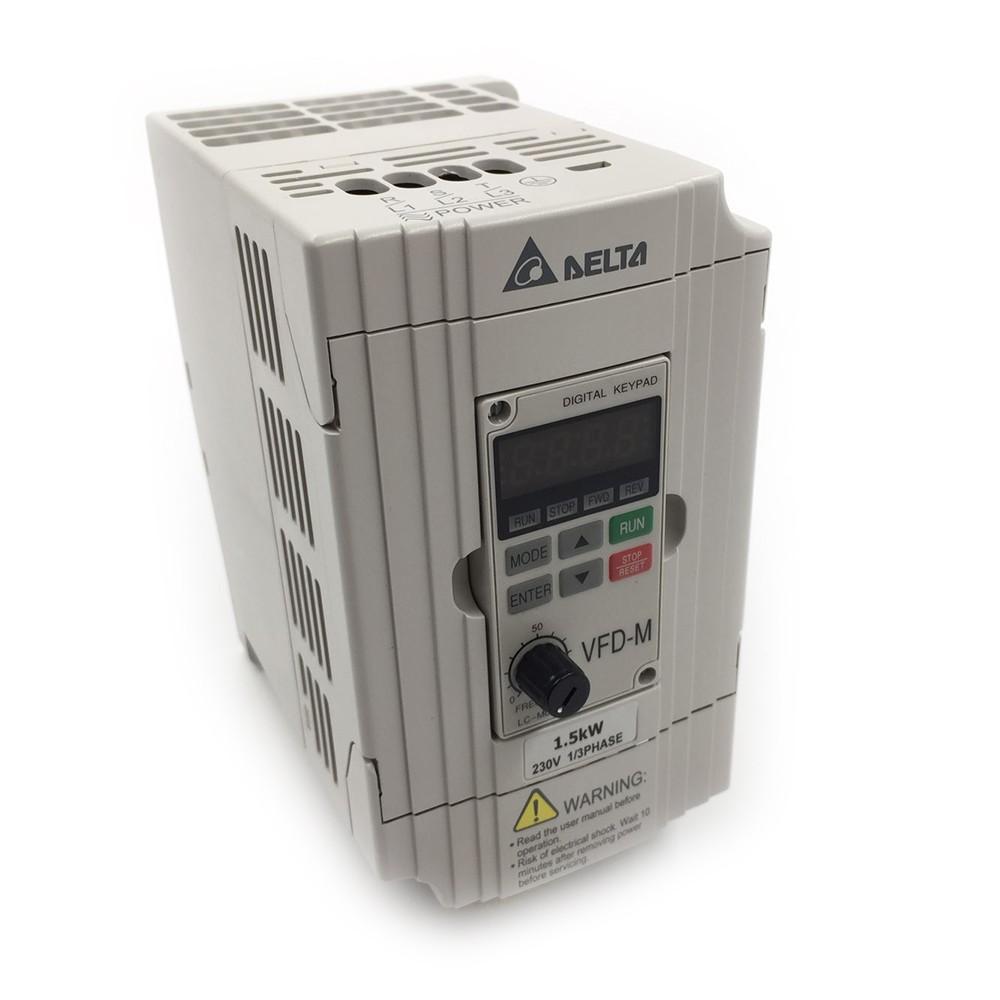 medium resolution of 220v 1 5kw single phase delta inverter vfd drive vfd015m21a 2hp 400hz milling woodworking machine