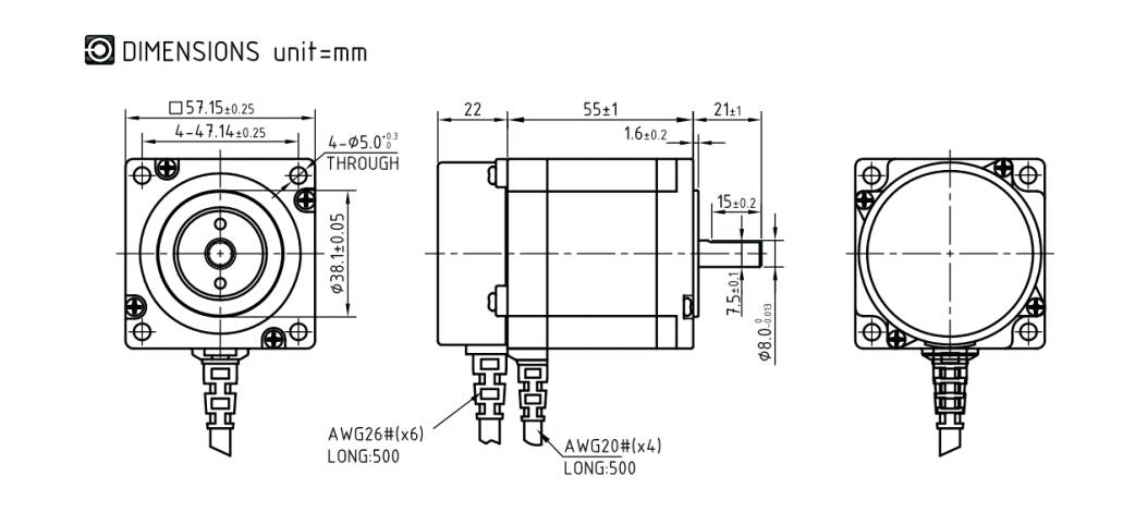 CNC DSP Closed-Loop Control Stepper Motor Drive Kit 3PH 3