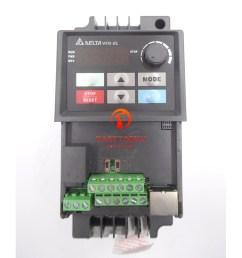 multifunction 0 75kw delta vfd inverter drive vfd007el43a 3phase 380v cnc ac motor controller [ 1000 x 1000 Pixel ]