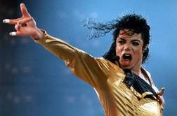 Michael Jackson performing on his Dangerous World Tour