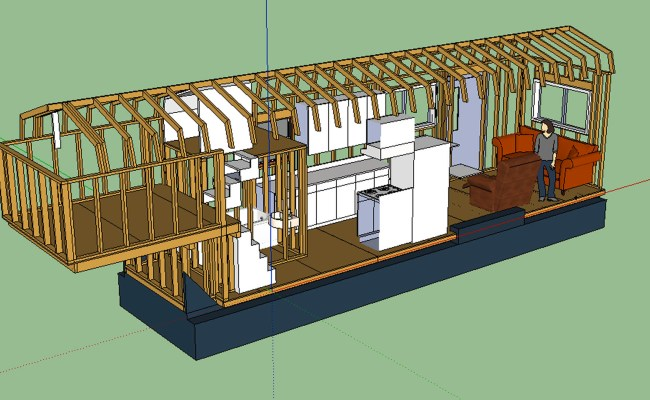 The Updated Layout Tiny House Fat Crunchy