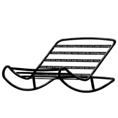 How To Make A Rocking Chair Not Rock Folding Chairs For Outside Use Beanbag Fatboy