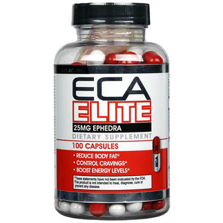 ECA Elite 25 mg Ephedra ECA Stack Hard Rock