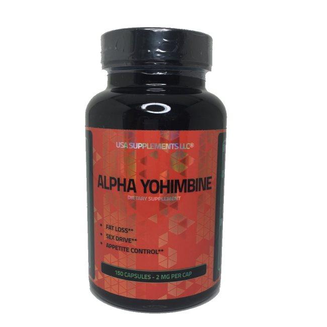 Alpha Yohimbine - 2mg, 150 Kapseln - Fatburner Kapseln