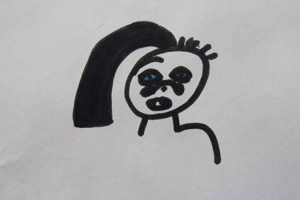 Portrait de Garfille
