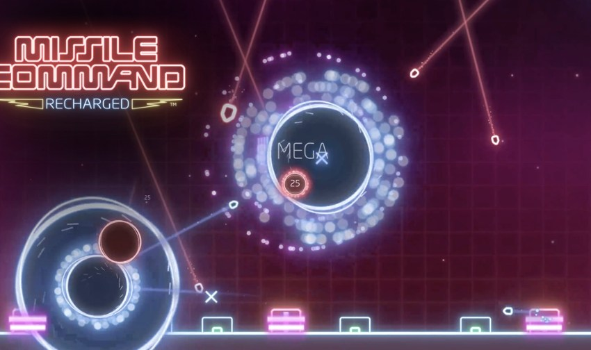 Missile Command: Recharged, the re-imagining of the arcade classic, is available now for iOS and Android