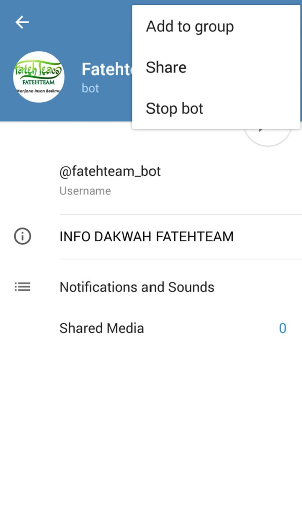 Telegram Bot START5
