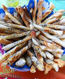 Grissini di Pasta Sfoglia